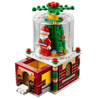 レゴ互換 クリスマス サンタ アドベントカレンダー サンタクロース レンガ ブロックセット LEGO風 知育玩具 プレゼント