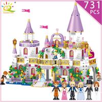 レゴ互換 プリンセスキャッスル お城 ミニフィグ付き ブロックセット LEGO風 知育玩具 女の子 731ピース