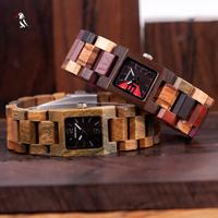 BOBO BIRD 木製腕時計 小さめ 25mm レディース 発光 ボボバード 小型 クォーツ ウッドウォッチ 海外高級ブランド ガールフレンドギフト 木製ギフトボックス付き S02