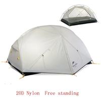 【Naturehike】2人用 20Dナイロン テント 登山 おすすめ 3色 キャンプ【アウトドア】