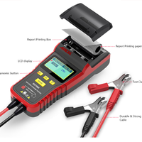 ANCEL BST500 12V 24V バッテリーテスター プリンター内蔵 車 診断ツール 自動車 スキャンツール 英語 多言語対応