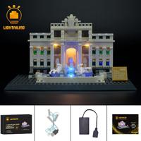 レゴ アーキテクチャー 21020 トレヴィの泉 互換 [LED ライトキット+バッテリーボックス] ライトアップセット
