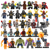 レゴ互換 アベンジャーズ ミニフィグ 34体豪華セット エンドゲーム フィギュア LEGO風