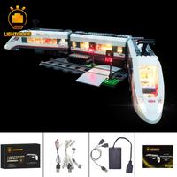 レゴ シティ 60051 ハイスピードパッセンジャートレイン 互換 LEDライトキット バッテリーボックス ライトアップセット