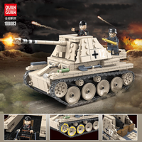 レゴ互換 ドイツ軍 戦車 小型 装甲車 ミニフィグ+武器 第二次世界大戦 WW2 ライトタンク 戦争 兵士 兵隊 軍隊 LEGO風