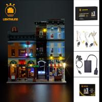レゴ 10246 探偵事務所 互換 LEDライトキット バッテリーボックス ライトアップ セット 渋くておしゃれ★
