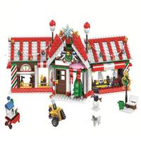 レゴ互換 クリスマス ミニフィグ アドベントカレンダー サンタ 雪だるま 家 木 ツリー サンタクロース ブロックセット LEGO風