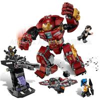 レゴ互換 スーパーヒーローズ ハルクバスター・スマッシュアップ 76104 LEGO互換品 アイアンマン アベンジャーズ インフィニティウォー ブロックセット マーベル レゴ風