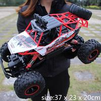 ラジコンカー 4WD モンスタートラック 37cm 2.4Ghz 防水 ラジコン カー バギー 外 オフロード ラジオコントロール レース 1:12 選べる4色