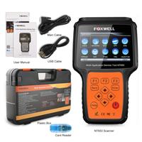 FOXWELL NT650 故障診断機 日本語対応 車 OBD2 スキャンツール 自動車 故障診断ツール コードスキャナー リーダー