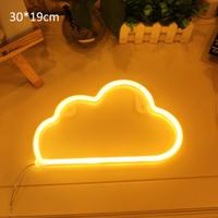 【ネオンサイン】 雲 ネオンライト 管 部屋 ショップ 【BAR】