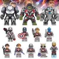 レゴ互換 アベンジャーズ ミニフィグ 12体セット シルバースーツ ハルク キャプテンアメリカ アイアンマン マーベル LEGO風