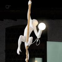 【ペンダントライト】 猿 モンキー ロープ 北欧 ホテル 【子供部屋にも】