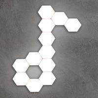 LMID 六角形 タッチ式 LEDランプ ウォールランプ センシティブ ナイトライト 壁ランプ ホテル レストラン リビング ダイニング ベッドルーム 3000K 4000K 6500K 5個セット