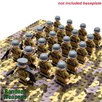 レゴ互換 ソビエト連邦軍 ミニフィグ 21体 武器 セット 特殊部隊 第二次世界大戦 WW2 Soviet Union Army 銃 戦争 軍隊 兵士 兵隊 LEGO風