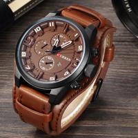 CURREN カレン 腕時計 メンズ 防水 レザーベルト ビジネス 日本製クォーツ 海外高級ブランド 選べる5色