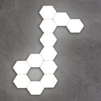 LMID タッチ式 LEDランプ 六角形 ナイトライト ウォールランプ センシティブ 壁ランプ ホテル レストラン リビング ダイニング ベッドルーム 3000K 4000K 6500K 4個セット