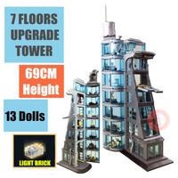 レゴ互換 スーパー・ヒーローズ アベンジャーズタワーの攻撃 76038 マーベル ミニフィグ付き LEGO風 知育玩具
