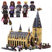 レゴ互換 ハリーポッター ホグワーツの大広間 75954 ホグワーツ城 ミニフィグ 10体 ブロックセット LEGO風