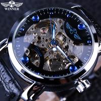 【海外ブランド】 T-WINNER スタイリッシュ スケルトン メンズ腕時計 自動巻き 機械式 高級 ラグジュアリーウォッチ 【選べる3色】