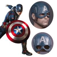 キャプテンアメリカ コスプレ コスチューム マスク ヘルメット 変身 アニメ グッズ おもちゃ 映画で大人気のヒーローになりきれる