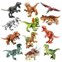 レゴ互換 恐竜 ジュラシック セット ワールド ブロック たっぷり遊べる12体★