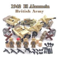 レゴ特殊部隊 イギリス軍 レゴ互換 ミリタリー 戦争 軍隊 兵隊 軍用 車 銃 爆弾 ナイフ ミニフィグ 4体 LEGO風 ブロック セット 知育にもおすすめ