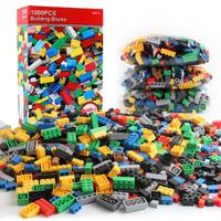 レゴ互換 パーツ 1000ピース アクセサリー バルク カラフル ブロックセット LEGO風 DIY 知育玩具  女の子 男の子