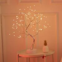 【ツリーライト】 LED イルミネーション クリスマス ブランチツリー USB+電池式 【おすすめ】