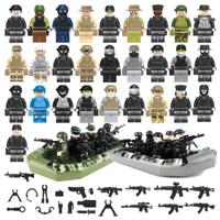 レゴ互換 レゴ特殊部隊 ミニフィグ 銃 ボート 戦争 軍隊 兵士 兵隊 ミリタリー LEGO風 ブロック セット 知育にもおすすめ★