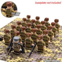 レゴ互換 ソビエト軍 ミニフィグ 50体 ソ連軍 冬 特殊部隊 武器 第二次世界大戦 WW2 銃 軍隊 兵士 兵隊 戦争 LEGO風 ブロックセット