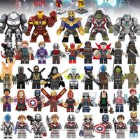 レゴ互換 アベンジャーズ ミニフィグ 41体セット 大量 ハルクバスター アイアンマン ハルク キャプテンアメリカ マーベル LEGO風