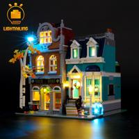 【LEDライトキット】 街の本屋 10270 レゴ互換 【ライトアップセット】