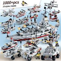 【変形可能で大人気】 レゴ互換 軍艦 海上自衛隊 船 ミニフィグ付き LEGO風 特殊部隊 戦争 ブロックセット 【知育玩具】