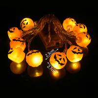 【ストリングライト】 LED かぼちゃ パンプキン 10個 クリスマス 【ハロウィン】