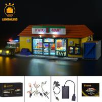 レゴ ライトアップセット 71016 シンプソンズ クイックEマート 互換 LEDライトキット+バッテリーボックス