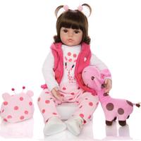 KEIUMI リボーンドール ベビードール 赤ちゃん 人形 リアル 本物そっくり トドラー人形 服+ぬいぐるみ付き 可愛い 柔らかい 人気 48cm