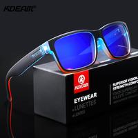 【KDEAM】 偏光サングラス KD505 メンズ UV400 ポラロイド 鮮やかでキレイ スポーツ アウトドア 高級 軽量 海外トップブランド カラフル 【選べる3色】