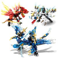 レゴ互換 ニンジャゴー ミニフィグ ドラゴン レゴニンジャゴー ブロックセット 剣 知育玩具 忍者 LEGO風 知育 お子様へのプレゼントにも 豪華3セット★