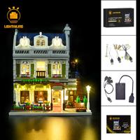 レゴ 10243 パリのレストラン 互換 LEDライトキット バッテリーボックス ライトアップ セット