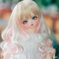 球体関節人形 BJD 美少女 1/4 本体+眼球+メイクアップ済み カスタムドール 可愛い 美しい 幼女 小さな口元 選べる2色