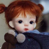 球体関節人形 幼女 1/6 本体+眼球+メイクアップ済み BJD カスタムドール 小さな女の子 美しい かわいい ノーマルスキン