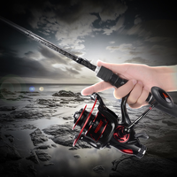 KastKing ベイトリール Sharky baitfeeder III 5000 シャーキー 軽量 高耐久 湖 川 渓流 カストキング ルアー フィッシング 釣り 安い 激安 高品質 人気 黒+赤