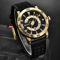 【BENYAR】腕時計 メンズ 3気圧防水 本革ベルト クォーツ 日付表示 カジュアル 海外高級ブランド おしゃれ 選べる3色