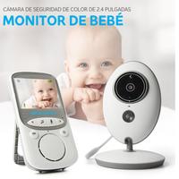 ベビーモニター ワイヤレス ポータブル 暗視 24時間見守りカメラ 持ち運び便利 おすすめ 2.4Ghz ベビーシッター ビデオカメラ 出産祝い