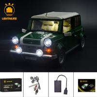 レゴ 10242 ミニ クーパーMk VII 互換 LEDライトキット バッテリーボックス ライトアップセット