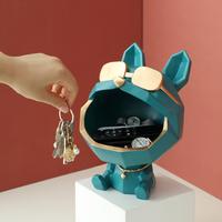 【犬】 置物 樹脂製 大きな口 かわいい 玄関 リビング 【おしゃれ】