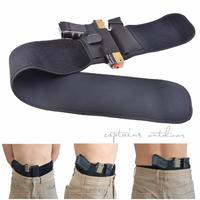 ホルスター ベルト 腰 銃 エアガン グロック マルチフィット 幅広いサイズに対応 よく伸びる 右手と左手から選択可能
