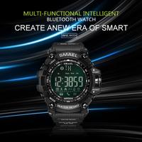 【1617B】 SMAEL Bluetooth スマートウォッチ 50m防水 便利 多機能 ブルートゥース 腕時計 LED 日付表示 【海外高級ブランド】
