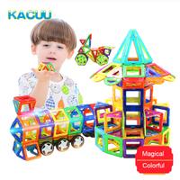 KACUU マグネットブロック 知育玩具 磁石 デザイン 磁気 大きいサイズ 建設ゲーム 子供 27PCS